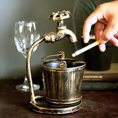 復古創意家用煙灰缸大號酒吧客廳辦公室ktv擺件個性潮流多功能