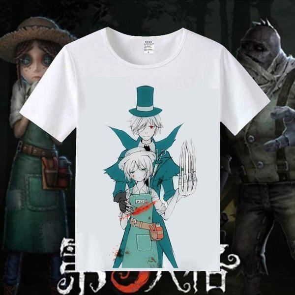 T恤 第五人格游戲周邊T恤 杰克園丁魔術機械師動漫學生休閒短袖衣服【美物居家館】