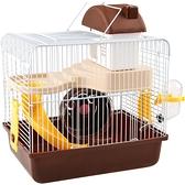 倉鼠籠子 金絲熊冬季保溫用品套裝齊全超大別墅便宜大的小倉鼠窩【快速出貨】