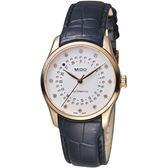 MIDO美度錶 Belluna Mysterious Date雋永系列神秘日期腕錶      M0242073603600