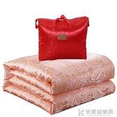 棉被100%桑蠶絲被全棉春秋被加厚保暖冬被子單雙人夏涼被空調被 igo快意購物網