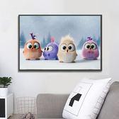新款客廳可愛小動物貼鉆十字繡兒童臥室卡通萌寵粘鉆磚石畫鉆石繡【快速出貨】
