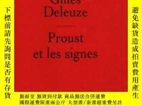 二手書博民逛書店Proust罕見Et Les SignesY255562 Gilles Deleuze Presses Uni