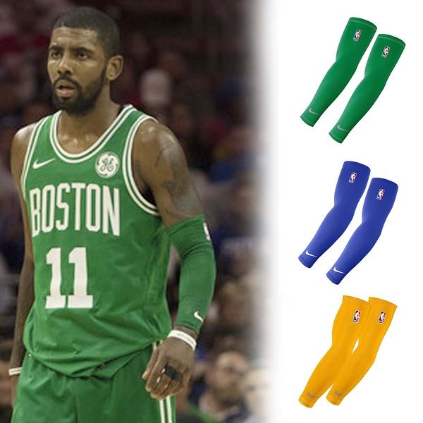 【六折特賣】Nike NBA Logo Shooting Sleeves 籃球 臂套 勇士 賽爾提克 魔術 透氣 護具 一雙/2個 【PUMP306】