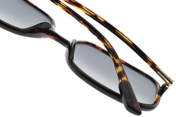 Dior 太陽眼鏡 SO STELLAIRE1 EPZ1I (琥珀-漸層藍鏡片) 時尚大方框造型款 墨鏡 #金橘眼鏡