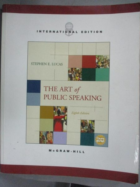 【書寶二手書T1/大學藝術傳播_PIM】Art of Public Speaking_Stephen E. Lucas