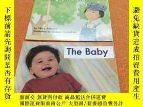 二手書博民逛書店the罕見baby和going on atrain ride2本