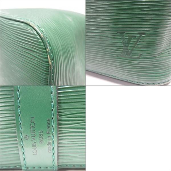 LOUIS VUITTON LV 路易威登 綠色EPI水波紋肩背水桶包 Noe M44004【BRAND OFF】