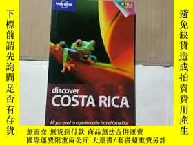 二手書博民逛書店罕見;Discover Costa Rica 1 (AU&UK)