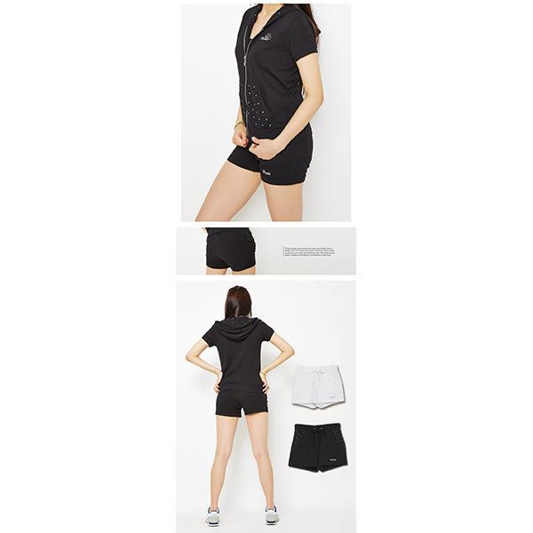 TOP GIRL 甜美之鑽 - 吸濕排汗休閒針織連帽外套 黑