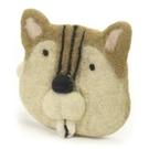 日本進口~尼泊爾製 羊毛氈 動物造型 拉錬零錢包 (現貨)
