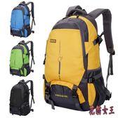 新款戶外超輕大容量背包旅行防水登山包女運動書包雙肩包男45L aj13013【花貓女王】