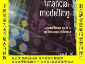 二手書博民逛書店mastering罕見financial modellingY1