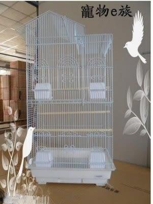 群鳥籠虎皮鸚鵡 牡丹八哥玄鳳籠大號送套裝禮包【藍星居家】