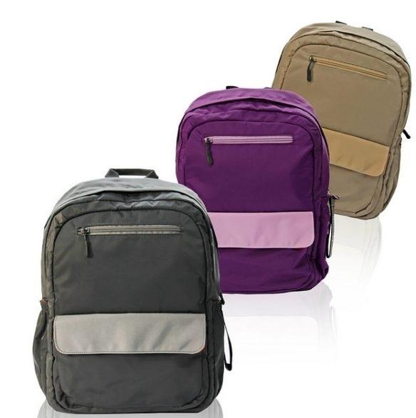 OBIEN 都會風情輕量中型後背包(三色) 輕量機能包 防水後背包