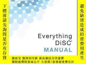 二手書博民逛書店Everything罕見DiSC ManualY410016 Mark Scullard, Da... IS