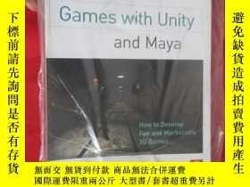 二手書博民逛書店Creating罕見Games with Unity and Maya: How to Develop Fun .