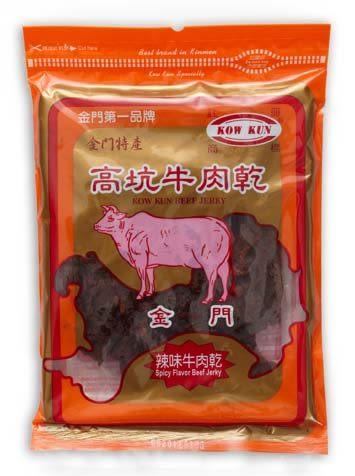 【金門高坑】辣味牛肉乾 180g±5%