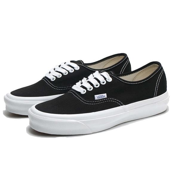 VANS 休閒鞋 板鞋 VAULT OG AUTHENTIC LX 黑 帆布 經典款 男女 (布魯克林) VN0A4BV91WX