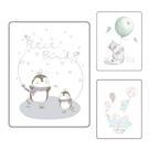 韓國 petit bird 透氣竹纖抗菌防水尿布墊-小(5款可選)