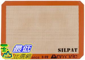 [104美國直購] Silpat 烘焙墊 AE420295-07 Non-Stick Silicone Baking Mat 29.5x41.9 法國製 烤箱墊_CB1