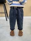 兒童棉褲 童裝男童牛仔褲春款兒童加絨褲子加厚小童冬季外穿男寶寶【快速出貨八折下殺】