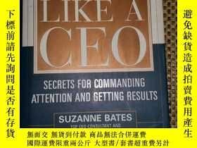 二手書博民逛書店Speak罕見Like a CEOY182979 Suzanne