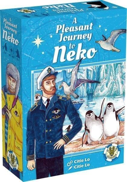 『高雄龐奇桌遊』 內科港 A Pleasant Journey to Neko 內附中文說明書 送PROMO卡 正版桌上遊戲專賣店