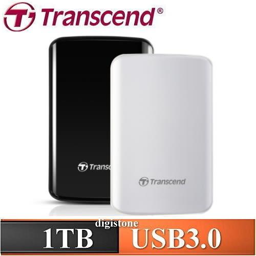 【免運費+加贈硬碟收納軟包】創見 Transcend 25D3 1TB 2.5吋 1T 懸吊式吸震行動硬碟X1台【限量贈品】