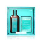 MOROCCANOIL 摩洛哥優油 優油愛皂禮盒(摩洛哥優油100ml+香氛沐浴皂200g)【美人密碼】