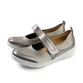 Kimo 休閒鞋 娃娃鞋 女鞋 銀色 KAISF071392 no838