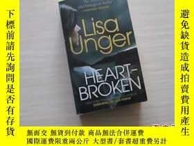 二手書博民逛書店Lisa罕見Unger: heartbroken【303】Y10