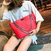 大容量仙女包包女2018夏季新款潮單肩斜跨手提鏈條包 WD604【衣好月圓】