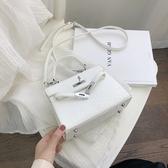 手提包 夏天包包女包新款2019時尚手提凱莉包?魚紋單肩斜挎包高級感洋氣
