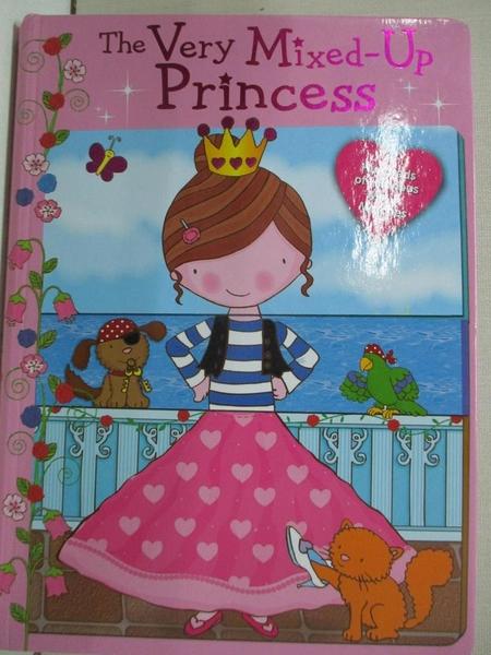 【書寶二手書T1/少年童書_DZP】The Very Mixed-Up Princess_Fleet, Mara Van/ Wade, Sarah (ILT)