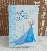 【震撼  】冰雪奇緣_Frozen 便條紙_ELSA_ 藍白色
