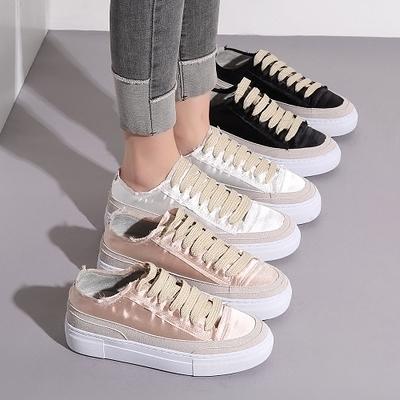 女士厚底新款韓版百搭內增高單鞋鬆糕底小白鞋 叮噹百貨