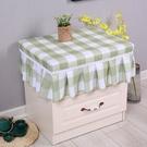 家居防塵罩 防水床頭柜防塵罩臥室床頭柜桌布歐式多用萬能蓋巾長方形防滑