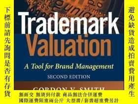 二手書博民逛書店Trademark罕見Valuation: A Tool for Brand Management, 2nd Ed