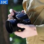 遮光罩 佳能ES-68遮光罩 新小痰盂鏡頭卡口50 1.8定焦人像鏡頭三代配件49mm聖誕節