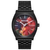 【萬年鐘錶】NIXON METALLICA 重金屬 電音派對 聯名款 不鏽鋼  防水百米 37mm A045-3109