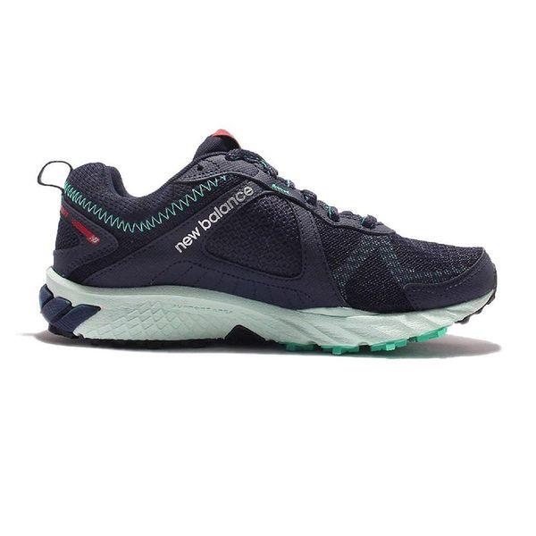 NEW Balance 女 GTX防水 黑綠 避震 越野 慢跑鞋 - WT610GX5B