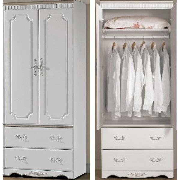 衣櫃 衣櫥 MK-645-2 諾維雅2.7尺衣櫃 【大眾家居舘】