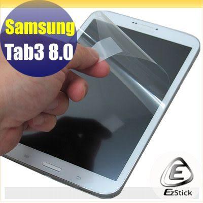 【EZstick】SAMSUNG Tab3 8.0 T3100 / T3110 專用 靜電式平板LCD液晶螢幕貼 (可選鏡面防汙及高清霧面)