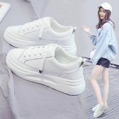 小白鞋 小白鞋女秋款爆款新款百搭板鞋休閒運動女鞋秋冬厚底白鞋秋鞋