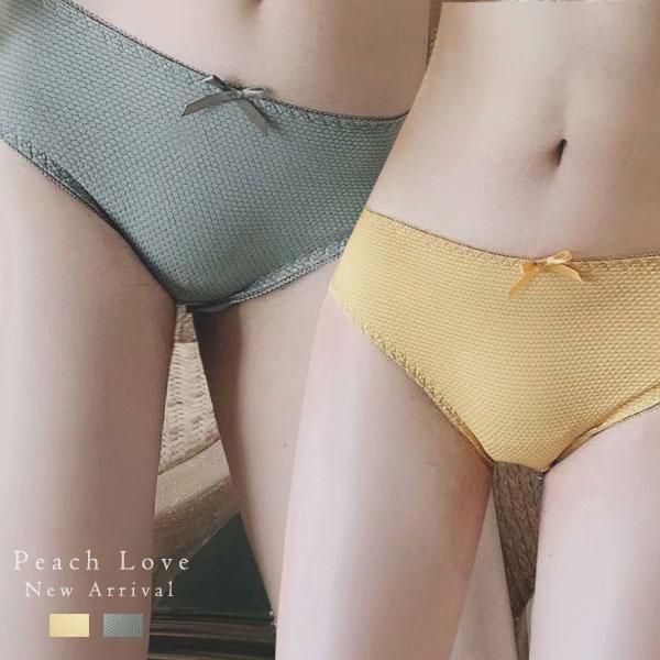 內褲 復古新秀內褲(兩色:黃、綠)-性感小褲_蜜桃洋房