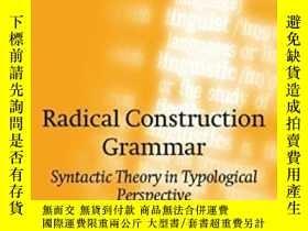二手書博民逛書店Radical罕見Construction Grammar: S