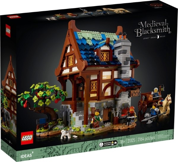 樂高LEGO IDEAS 中世紀冶鐵坊 21325 TOYeGO 玩具e哥