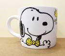 【震撼精品百貨】史奴比Peanuts Snoopy ~SNOOPY湯杯/馬可杯-黃色