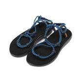 TEVA VOYA INFINITY STRIPE 羅馬織帶涼鞋 法國藍 TV1106866FBBI 女鞋